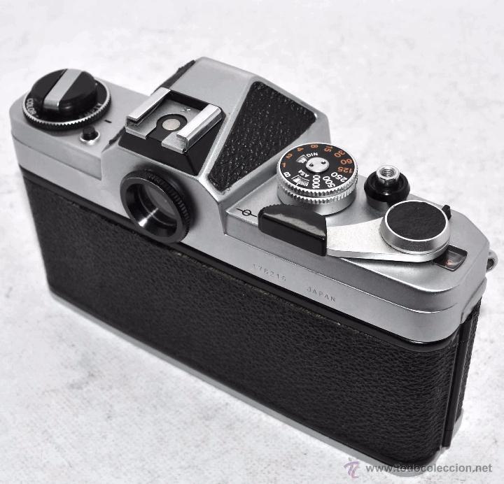 Cámara de fotos: EXCELENTE CUERPO DE CAMARA REFLEX..JAPON 1975...CHINON CX, ROSCA DE 42 mm..BUEN ESTADO..FUNCIONA - Foto 10 - 52536303