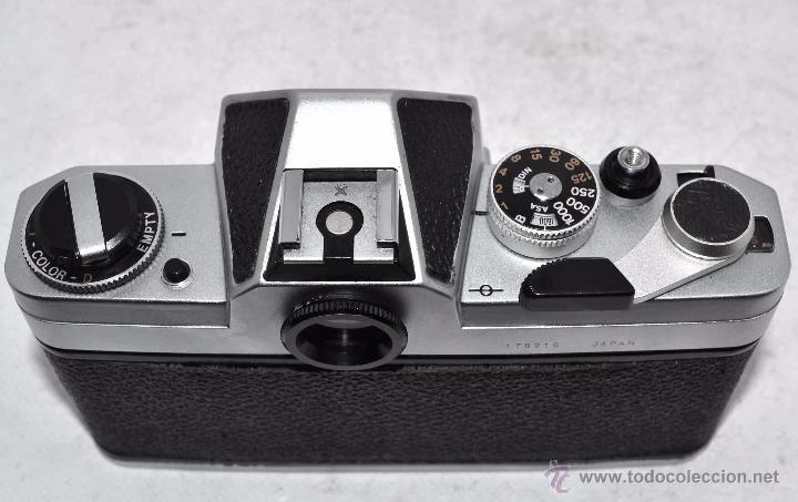 Cámara de fotos: EXCELENTE CUERPO DE CAMARA REFLEX..JAPON 1975...CHINON CX, ROSCA DE 42 mm..BUEN ESTADO..FUNCIONA - Foto 11 - 52536303