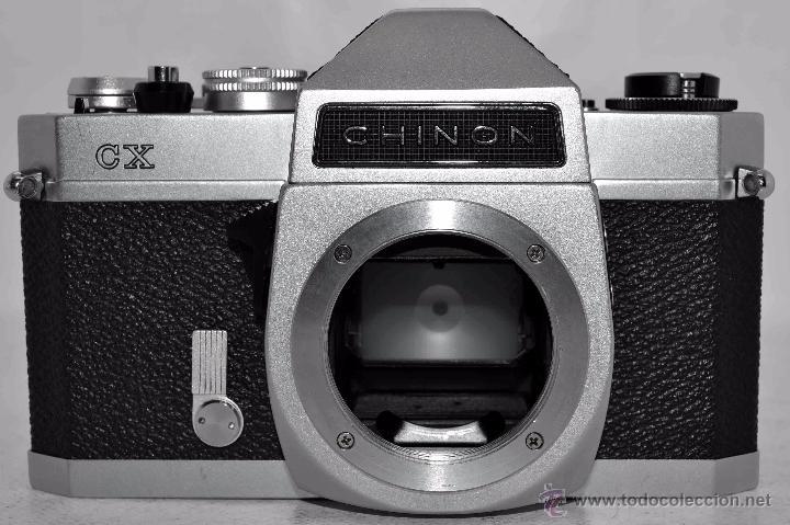 Cámara de fotos: EXCELENTE CUERPO DE CAMARA REFLEX..JAPON 1975...CHINON CX, ROSCA DE 42 mm..BUEN ESTADO..FUNCIONA - Foto 12 - 52536303
