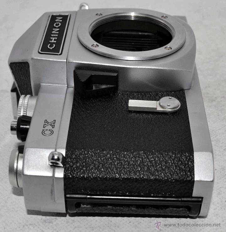 Cámara de fotos: EXCELENTE CUERPO DE CAMARA REFLEX..JAPON 1975...CHINON CX, ROSCA DE 42 mm..BUEN ESTADO..FUNCIONA - Foto 16 - 52536303