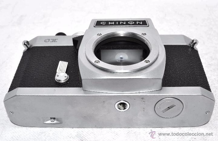 Cámara de fotos: EXCELENTE CUERPO DE CAMARA REFLEX..JAPON 1975...CHINON CX, ROSCA DE 42 mm..BUEN ESTADO..FUNCIONA - Foto 17 - 52536303