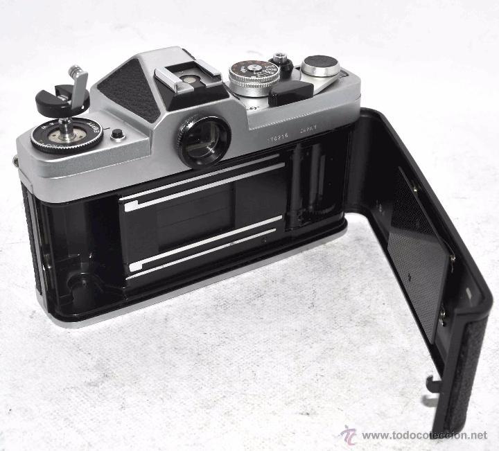 Cámara de fotos: EXCELENTE CUERPO DE CAMARA REFLEX..JAPON 1975...CHINON CX, ROSCA DE 42 mm..BUEN ESTADO..FUNCIONA - Foto 19 - 52536303