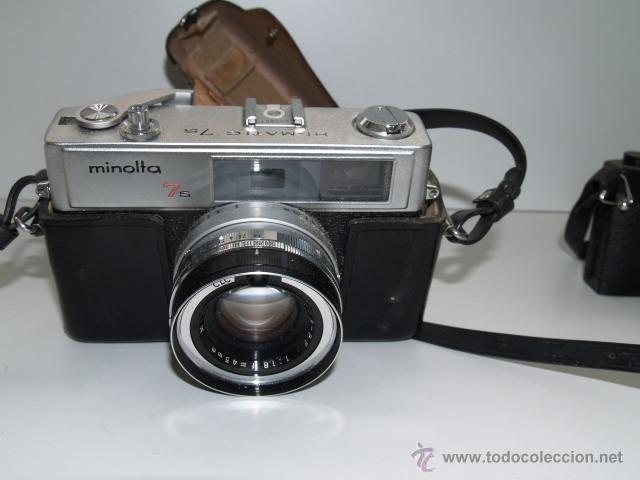 CAMARA DE FOTOS MINOLTA HI MATIC 7S (Cámaras Fotográficas - Réflex (no autofoco))