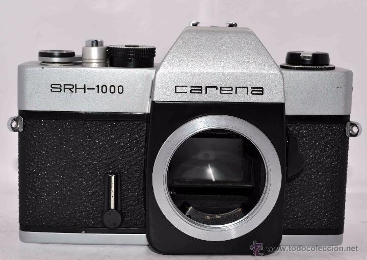 CUERPO DE CAMARA REFLEX..JAPON 1973..CARENA HRC 1000, ROSCA DE 42 MM..MUY BUEN ESTADO..FUNCIONA (Cámaras Fotográficas - Réflex (no autofoco))