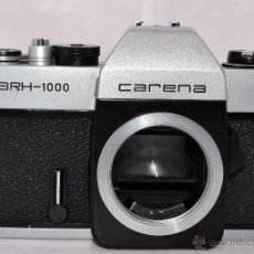 Cámara de fotos: CUERPO DE CAMARA REFLEX..JAPON 1973..CARENA HRC 1000, ROSCA DE 42 MM..MUY BUEN ESTADO..FUNCIONA. Lote 52724318