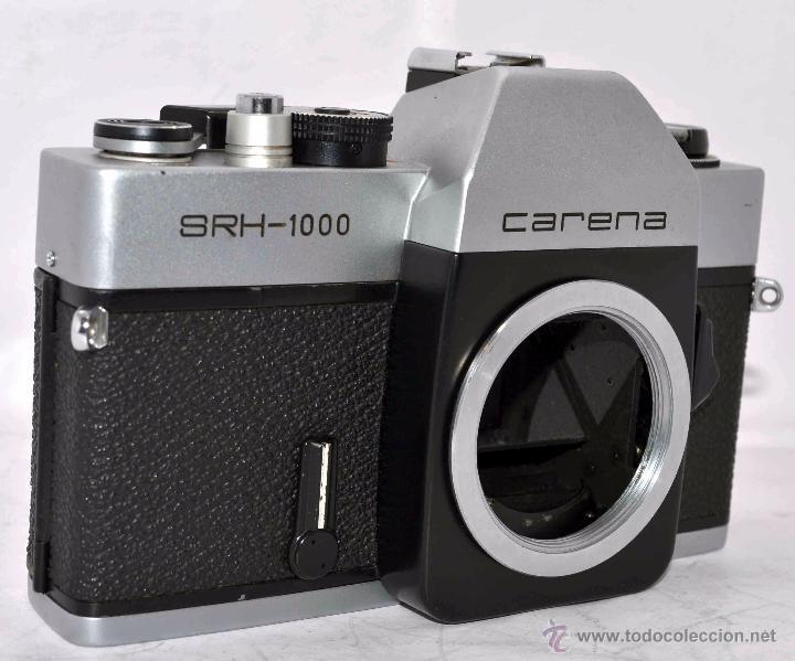 Cámara de fotos: CUERPO DE CAMARA REFLEX..JAPON 1973..CARENA HRC 1000, ROSCA DE 42 mm..MUY BUEN ESTADO..FUNCIONA - Foto 2 - 52724318