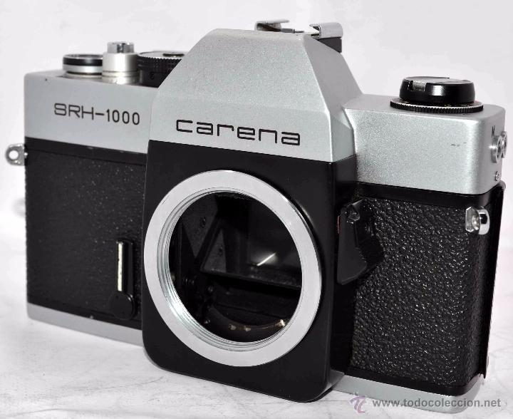 Cámara de fotos: CUERPO DE CAMARA REFLEX..JAPON 1973..CARENA HRC 1000, ROSCA DE 42 mm..MUY BUEN ESTADO..FUNCIONA - Foto 3 - 52724318