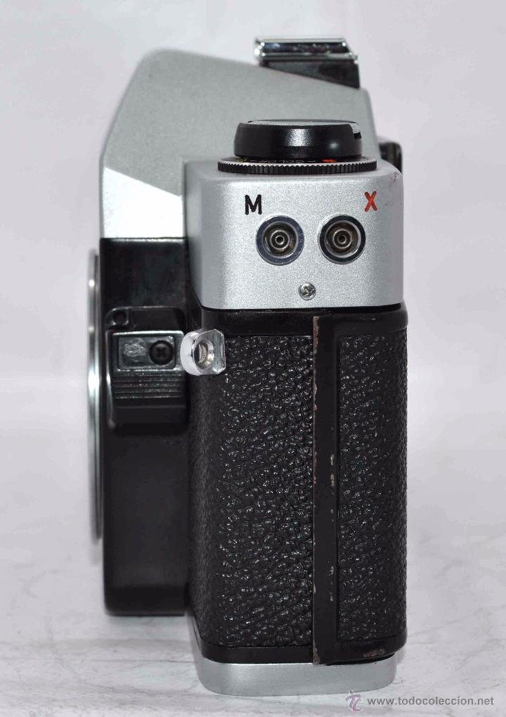 Cámara de fotos: CUERPO DE CAMARA REFLEX..JAPON 1973..CARENA HRC 1000, ROSCA DE 42 mm..MUY BUEN ESTADO..FUNCIONA - Foto 4 - 52724318