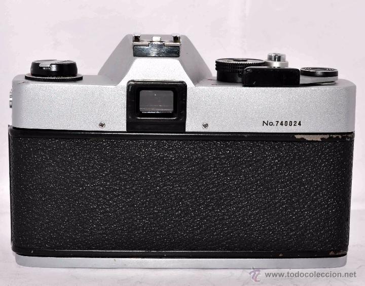 Cámara de fotos: CUERPO DE CAMARA REFLEX..JAPON 1973..CARENA HRC 1000, ROSCA DE 42 mm..MUY BUEN ESTADO..FUNCIONA - Foto 5 - 52724318