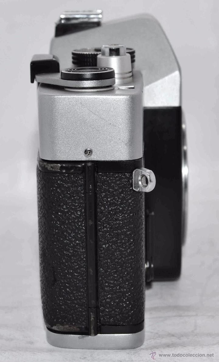 Cámara de fotos: CUERPO DE CAMARA REFLEX..JAPON 1973..CARENA HRC 1000, ROSCA DE 42 mm..MUY BUEN ESTADO..FUNCIONA - Foto 7 - 52724318