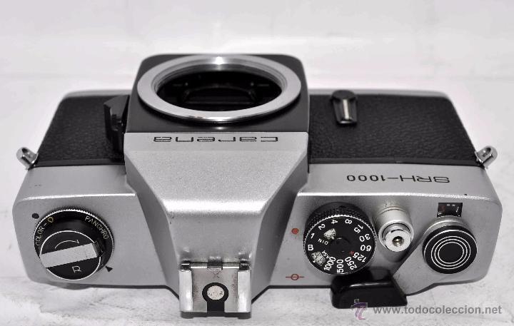 Cámara de fotos: CUERPO DE CAMARA REFLEX..JAPON 1973..CARENA HRC 1000, ROSCA DE 42 mm..MUY BUEN ESTADO..FUNCIONA - Foto 12 - 52724318