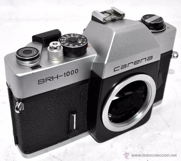 Cámara de fotos: CUERPO DE CAMARA REFLEX..JAPON 1973..CARENA HRC 1000, ROSCA DE 42 mm..MUY BUEN ESTADO..FUNCIONA - Foto 13 - 52724318