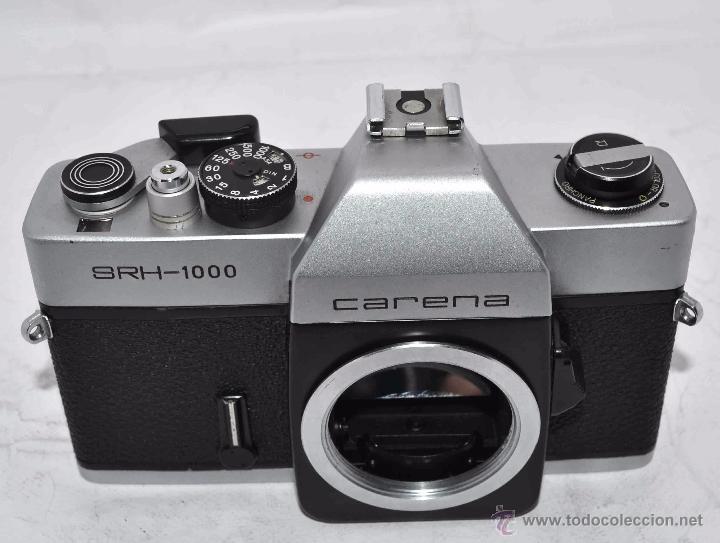Cámara de fotos: CUERPO DE CAMARA REFLEX..JAPON 1973..CARENA HRC 1000, ROSCA DE 42 mm..MUY BUEN ESTADO..FUNCIONA - Foto 14 - 52724318