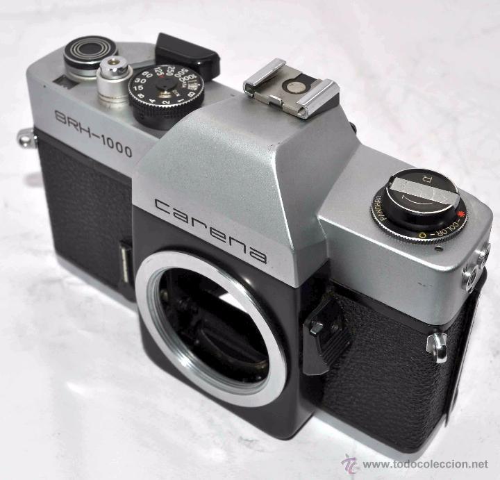 Cámara de fotos: CUERPO DE CAMARA REFLEX..JAPON 1973..CARENA HRC 1000, ROSCA DE 42 mm..MUY BUEN ESTADO..FUNCIONA - Foto 15 - 52724318