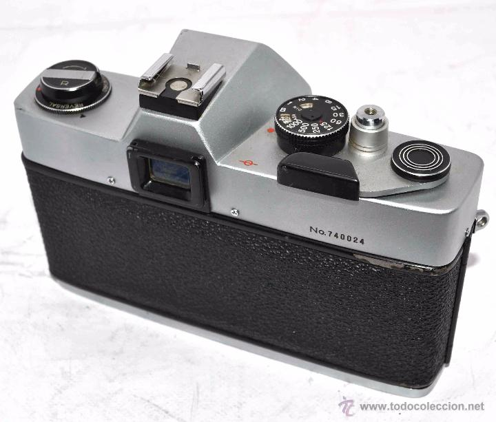 Cámara de fotos: CUERPO DE CAMARA REFLEX..JAPON 1973..CARENA HRC 1000, ROSCA DE 42 mm..MUY BUEN ESTADO..FUNCIONA - Foto 17 - 52724318