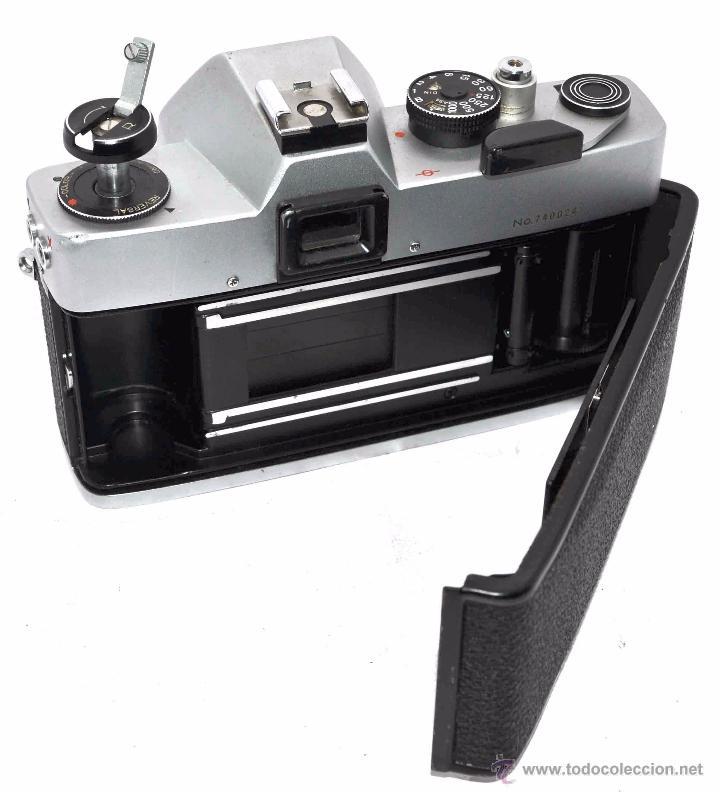 Cámara de fotos: CUERPO DE CAMARA REFLEX..JAPON 1973..CARENA HRC 1000, ROSCA DE 42 mm..MUY BUEN ESTADO..FUNCIONA - Foto 18 - 52724318