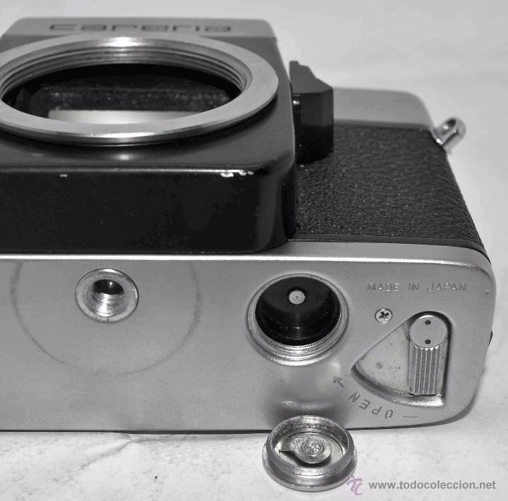 Cámara de fotos: CUERPO DE CAMARA REFLEX..JAPON 1973..CARENA HRC 1000, ROSCA DE 42 mm..MUY BUEN ESTADO..FUNCIONA - Foto 20 - 52724318