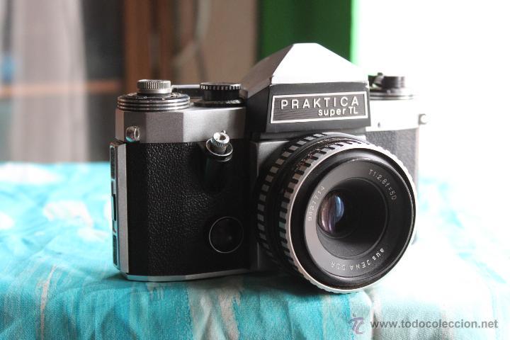 PRAKTICA SUPER TL + TESSAR 50MM 1:2,8 (Cámaras Fotográficas - Réflex (no autofoco))