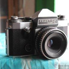 Cámara de fotos: PRAKTICA SUPER TL + TESSAR 50MM 1:2,8. Lote 53325866