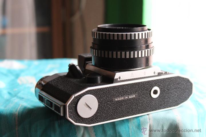 Cámara de fotos: Praktica Super TL + Tessar 50mm 1:2,8 - Foto 2 - 53325866