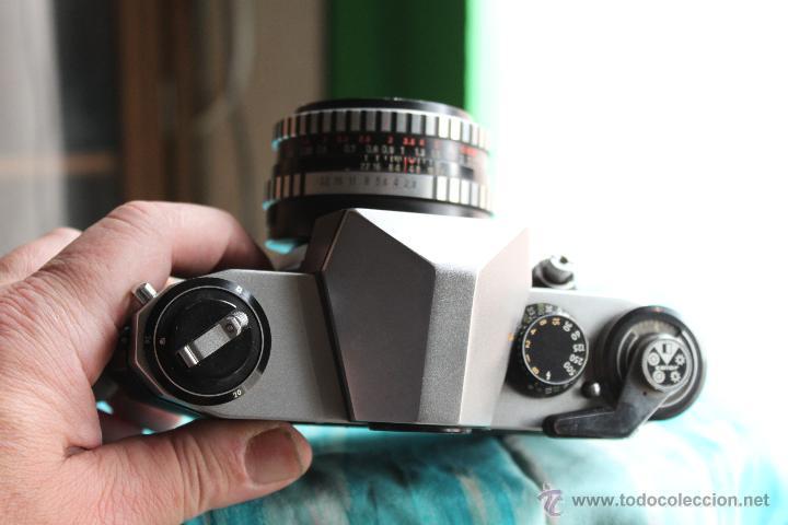 Cámara de fotos: Praktica Super TL + Tessar 50mm 1:2,8 - Foto 4 - 53325866