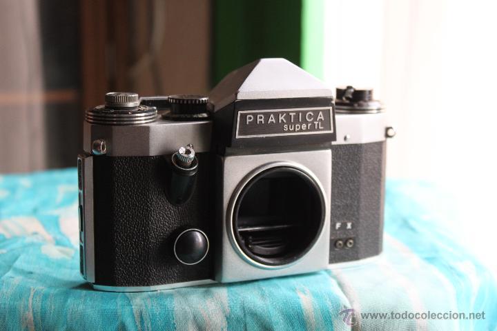 Cámara de fotos: Praktica Super TL + Tessar 50mm 1:2,8 - Foto 5 - 53325866
