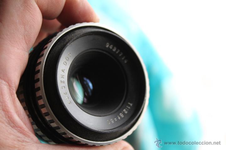 Cámara de fotos: Praktica Super TL + Tessar 50mm 1:2,8 - Foto 8 - 53325866