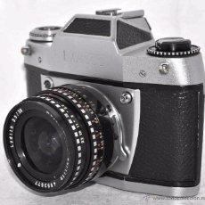 Cámara de fotos: ESPECTACULAR MODELO EXA...REFLEX...IHAGEE EXA 500+LYDITH 3,5...ALEMANIA 1966...BUEN ESTADO..FUNCIONA. Lote 53377400