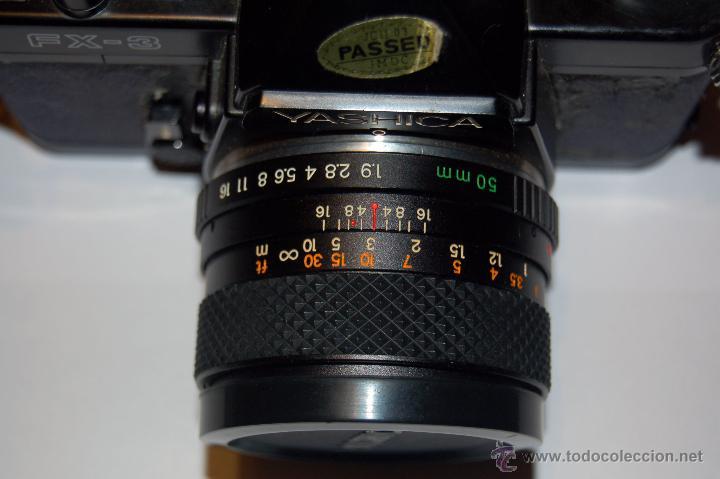 Cámara de fotos: Yashica FX-3 con objetivo Yashica DSB 50 mm 1:1,9 - Foto 2 - 53558637