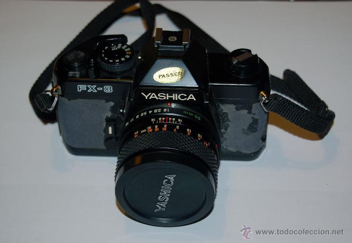 Cámara de fotos: Yashica FX-3 con objetivo Yashica DSB 50 mm 1:1,9 - Foto 5 - 53558637