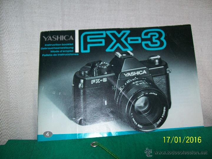 Cámara de fotos: Yashica FX-3 con objetivo Yashica DSB 50 mm 1:1,9 - Foto 7 - 53558637