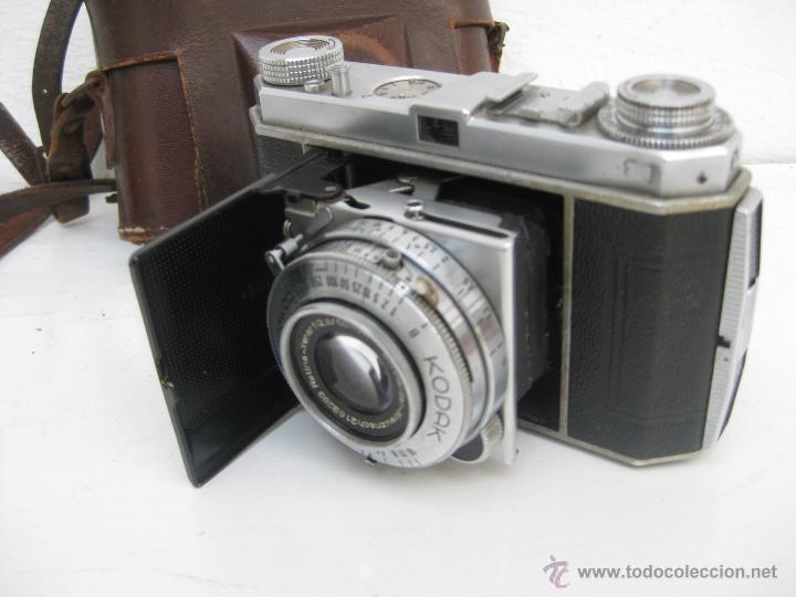 Cámara de fotos: MUY RARA CAMARA DE FOTOS ANTIGUA KODAK RETINA DE FUELLE TELEMETRICA - Foto 2 - 54833388