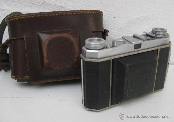 Cámara de fotos: MUY RARA CAMARA DE FOTOS ANTIGUA KODAK RETINA DE FUELLE TELEMETRICA - Foto 4 - 54833388