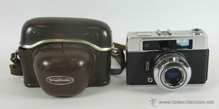 CAMARA FOTOGRAFICA VOIGTLANDER MODELO VITO CS. CON FUNDA. 1939. (Cámaras Fotográficas - Réflex (no autofoco))