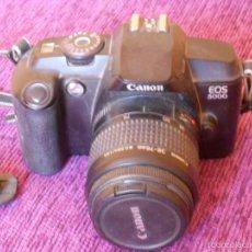 Cámara de fotos: CANON EOS 5000 CON OBJETIVO. Lote 55813091