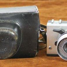 Cámara de fotos: CAMARA FOTOGRAFICA SOVIETICA. ZORKI 10. FUNDA EN CUERO ORIGINAL. 1965. . Lote 56567875