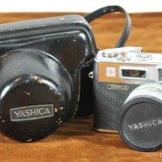 Cámara de fotos: CAMARA FOTOGRAFICA. YASHIKA ELECTRO 35. FUNDA ORIGINAL. 1966. . Lote 56568433