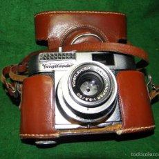 Cámara de fotos: CAMARA DE FOTOS VOIGTLANDER VITO BL. Lote 56699726