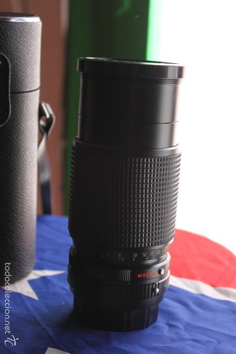 Cámara de fotos: Equipo Fujica STX-1 (objetivos de 50,28,135 y 80-200) - Foto 9 - 56920925