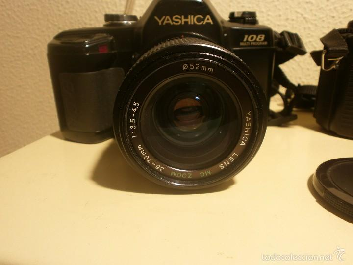 Cámara de fotos: Cámara fotografica Yashica 108 multi program objetivo zoom 52 mm - Foto 4 - 56928863