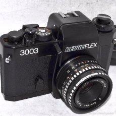 Cámara de fotos: EXCELENTE CAMARA REFLEX..JAPON 1970..REVUEFLEX 3000+DOMIPLAN 50MM+..MUY BUEN ESTADO..FUNCIONA. Lote 57532787