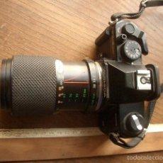 Cámara de fotos: CAMARA YASHICA FX-3 SUPER 2000 CON ZOOM YASHICA 35-105 FUNCIONANDO. Lote 57552624
