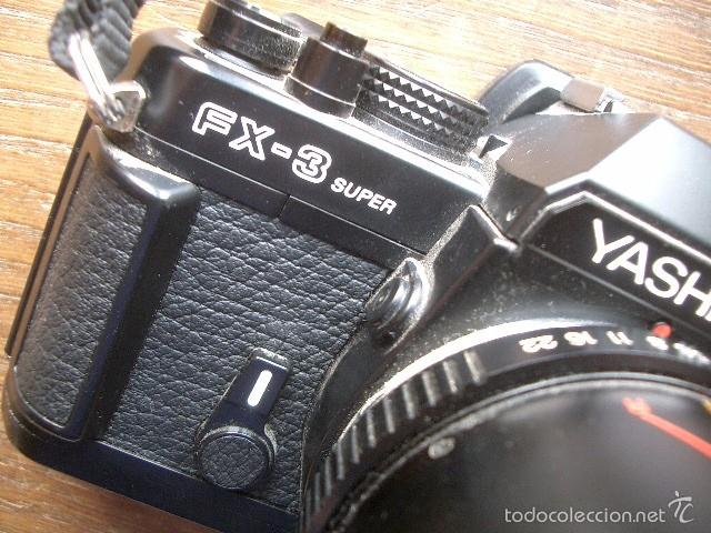 Cámara de fotos: CAMARA YASHICA FX-3 SUPER 2000 con zoom Yashica 35-105 funcionando - Foto 4 - 57552624