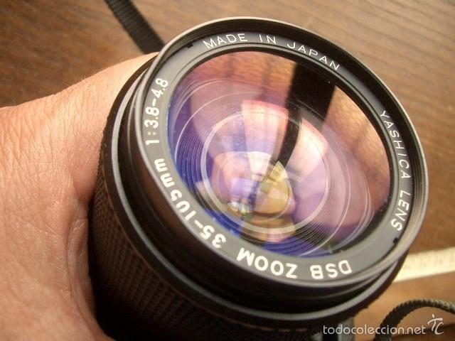 Cámara de fotos: CAMARA YASHICA FX-3 SUPER 2000 con zoom Yashica 35-105 funcionando - Foto 8 - 57552624