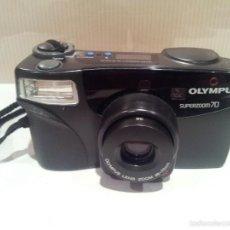 Cámara de fotos: CAMARA DE FOTOS OLYMPUS SUPERZOOM 7.0 MUY BUEN ESTADO. Lote 57618353