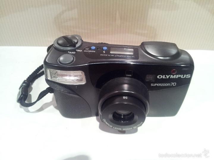 Cámara de fotos: camara de fotos olympus superzoom 7.0 muy buen estado - Foto 2 - 57618353