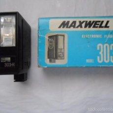 Cámara de fotos: FLASH ELECTRONICO MAXWELL UNIT. Lote 57807402