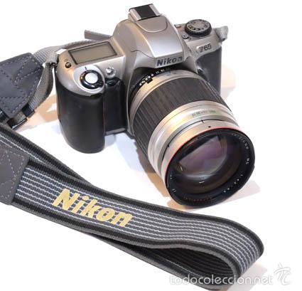 CAMARA NIKON F65 CON OBJETIVO 28 - 210 (Cámaras Fotográficas - Réflex (no autofoco))