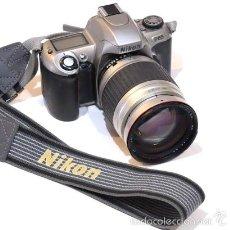 Cámara de fotos: CAMARA NIKON F65 CON OBJETIVO 28 - 210. Lote 57863881
