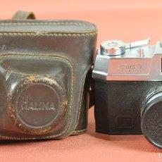 Cámara de fotos: CAMARA FOTOGRAFICA. HALINA. MODELO SUPER. 35 MM. FUNDA ORIGINAL. HONG KONG. 1963. . Lote 57864141